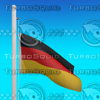 flag germany - loop max