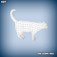 c4d base mesh cat