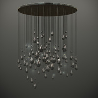 3d raindrop luum raining light model