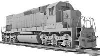 Train Locomotive UT V1
