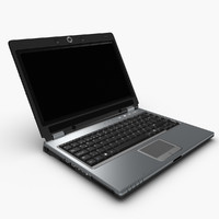 3d laptop keyboard model