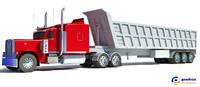 3d 3ds american dump truck