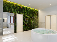 max modern bathroom interior