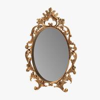 3d ornate mirror