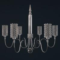 chandelier geometrix el2220 elements 3d model
