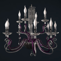 3d chandelier venice superlux l12 model