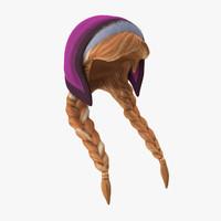 anna wig 3d max