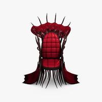 throne evil 3d max