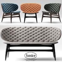 sofa baxter dalma 3d max