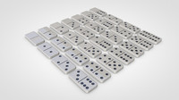 3d dominoes set