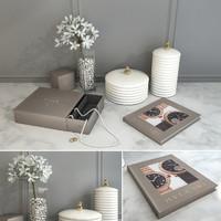 decorative set jewelry 3d max