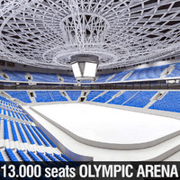 Winter Olympic Stadium 13000 seats