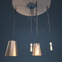 3d edison lamp model
