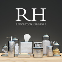 Bath Decor By Restoration Hardware