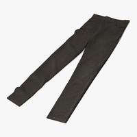 3d model jeans 3