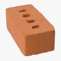3d model brick 01