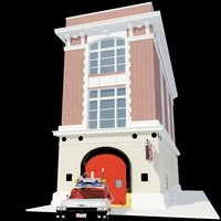 Ghostbusters Fire House