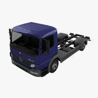 3d model mercedes-benz atego