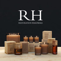 Decorative set BELGIAN LINEN SCENT COLLECTION and WINTER HOME By Restoration Hardware