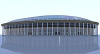 luzhniki stadium moscow 3d 3ds