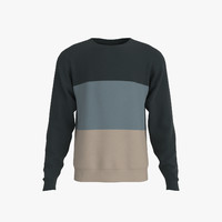 3d unisex sweater model
