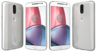 3d model motorola moto g4 white