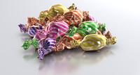 3d candies model