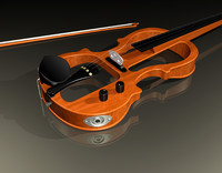 electric violin 3ds