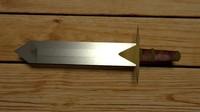 3d model sword medieval
