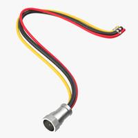 3d model wire kits parts 03