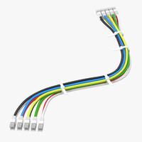 wire kits parts 05 3d c4d