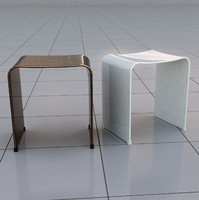 3d stool taburete banqueta model