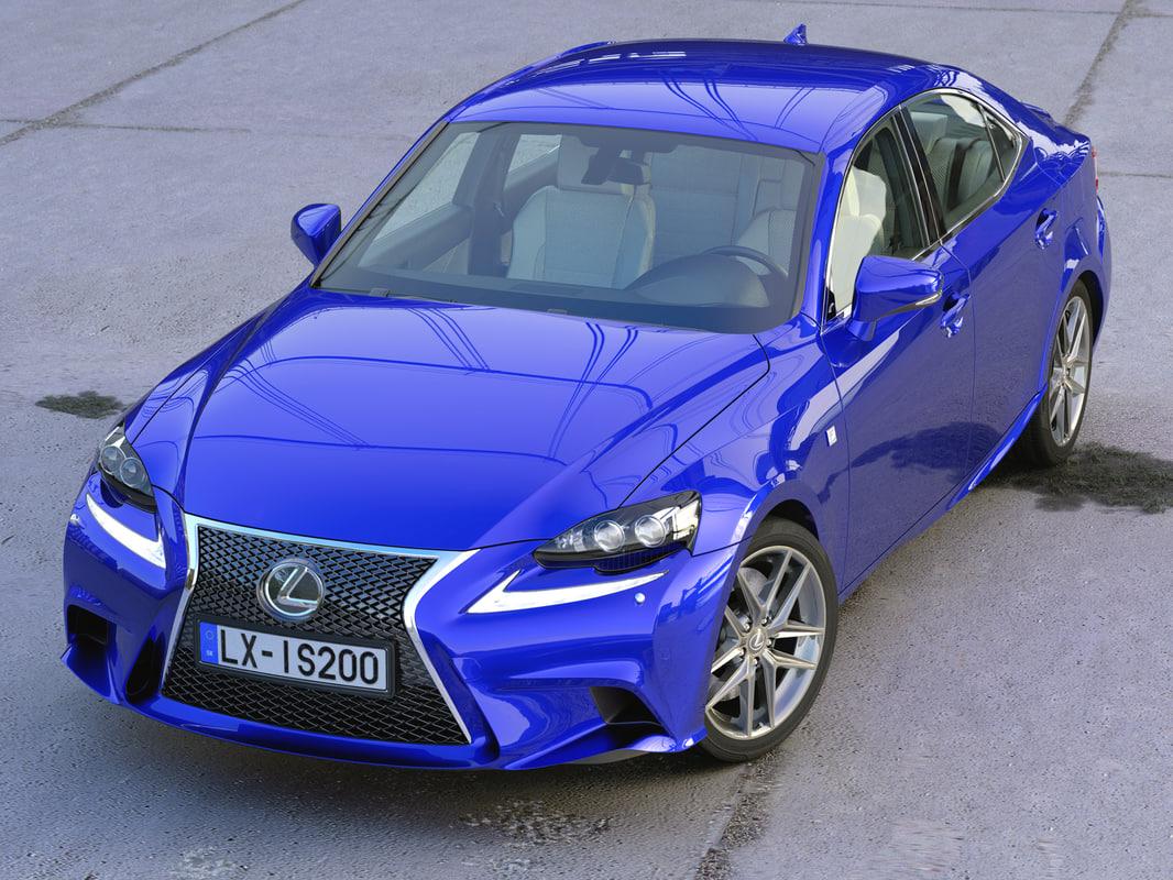 2016 Lexus F Sport Models