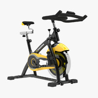 3d exercise bike model