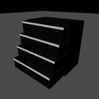 draws 3d model