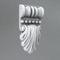 classical decoration ornamental 3d x