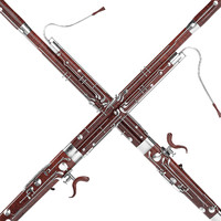 3d model bassoon