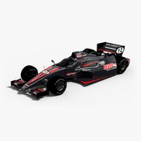 indycar izod car 3d model