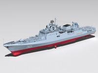 project 11356 frigate 3ds