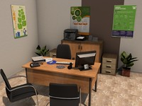 office room pack 3 3d c4d