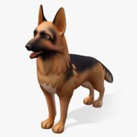 cartoon animals shepard max