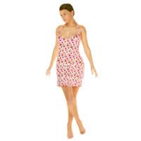 summer dress 3d model