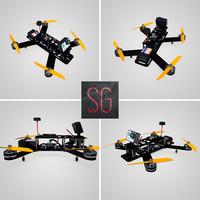 lumenier 250 drone gopro 3d model