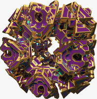 abstract shape 3d model
