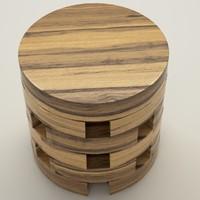 3d model thai coffee table