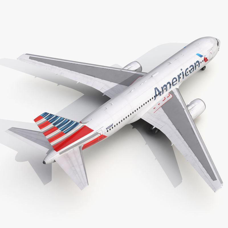 Boeing 767 200 American Airlines 3d model 01.jpg