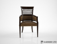 3d model sarreid exeter dining chair