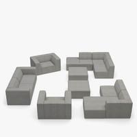 max boconcept carmo based sectional sofa