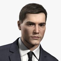 3d mark male body model