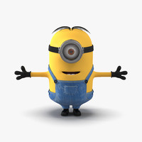 short eyed minion c4d